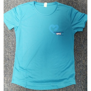 NHS Health & Hustle Womens Tee
